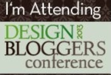 Design Bloggers Conference / Pin all of your #DBC2013 inspiration!  Quotes, photos, fabrics, textures, anything that speaks to you! Or, share your blog with the rest of the community.  To request an invitation, tweet your Pinterest username (pinterest.com/YOURUSERNAME) to #PinDBC... and then invite your friends!  *This board is the property of Design Bloggers Conference*
