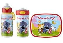 Lunchsets / Lunchsets campus midi van Rosti Mepal met drinkfles pop-up, schoolbeker en lunchbox midi