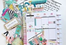 Planner Inspiration / Inspiration for personalizing your planner