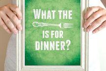 Weeks dinner....a menu plan, maybe