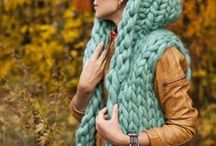 Knitting - Bulky / Bulky is beautiful. A collection of bulky and super bulky knits, bulky knitting and bulky yarn.