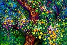 Art/Paintings/Illustrations / by Amanda Eisner