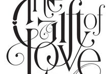 Typography & Lettering / by Amanda Eisner