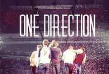 #One Direction / They are more than just a band to me. They are my heroes, they save me. #4YearsOf1D / by Mallorie Lancaster