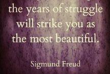 ༜ Sigmund Freud ༜ / by Melissa K. Nicholson, LMSW