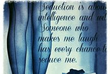S e d u c t i o n  / Seduction .....