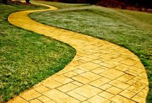 Follow the Yellow Brick Road / #Roads #trails #pathways #stairways #bridges #highways #byways #gravel paths #walkways #paths #winding roads #dangerous roads #winding roads #cobblestone #streets #avenues #walking #paths   / by Shirley Millard