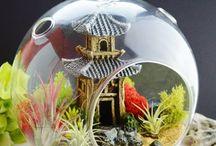 Japanse fairy garden (of zen gardens)