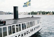 Sweden Travel Inspiration / Planning for a summer trip to Stockholm, Sweden