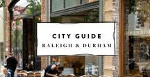 Raleigh NC Travel Guide / A guide of things to do in Raleigh, NC + some fun day trips to the mountains and the beaches