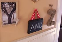 House: Playroom: ABC wall / by Amy Yates