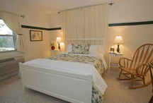 Guest Rooms / Bed and Breakfast rooms at the Inn & Spa at Cedar Falls / by Inn & Spa at Cedar Falls