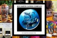 """EcoEarthCandles.com / Eco Earth Candle Company is solely a women owned company that have a natural connection to our planet. A small company by choice,  the women at Eco Earth are organic gardeners, nature lovers and were """"tree huggers"""" long before it was cool. Creating natural hand poured soy wax candles, and other related products that are *earth friendly, that even mother nature would be proud of. / by EcoEarth Candles"""