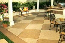 Garden: porch, deck, entry, patio / by Amy Yates