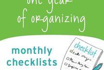 Calendar: organize me / by Amy Yates