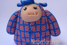 Mesperluettem / My creations : crochet, wool and polymer clay.