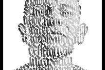 calligraphy / by Karen Alfaro