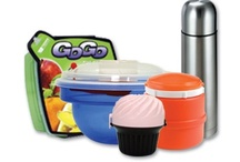 On The Go! / We have convenient, reusable items that make eating healthy fast, fabulous and fun.  Convenient take along containers that also help our environment, they are reusable and you can save money in food storage bags and containers.  Make a wonderful snack for your kids, complete with Dip in our Veggie & Fruit.  Take along a nutritious lunch in any of our insulated food bottles. We have lots of options to help you save money!