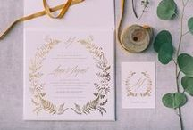 Atelier Invitations - Προσκλητήρια / Atelier designs every piece from scratch to your specifications. By taking the time to learn about each wedding theme and couple's style, we can produce an invitation package, which will be the perfect reflection of who you are as a couple and what your wedding day will be.