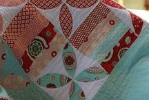Quilt It~Aqua and Red / Inspiration for the Sunroom! / by Janet Betts