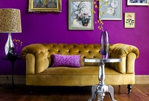 Dream Home / I want comfort and luxury, warm and vibrant textures, and colours that soothe and inspire me.