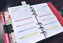 Planner Pages / by Miranda Hersey