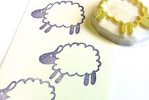 Rubber Stamp Madness / Rubber stamp fun and storage / by Melanie Morehead-Wolff