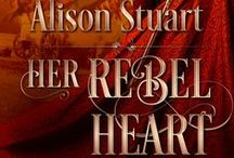 Alison's Books - HER REBEL HEART (previously CLAIMING THE REBEL'S HEART) / Snippets and posts about HER REBELHEART, a historical romance set in the English Civil War Released:  Jan 2014