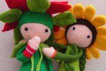 Zabbez Hall Of Fame / Hall of Fame of the Zabbez crochet flower dolls