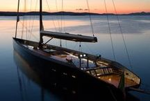 Super yachts and Mega yachts / See some of the most luxurious yachts around. What do you fancy motor or sail)