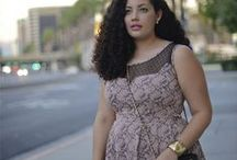 Fashion for curvy girls: dresses and skirts / by Sue Craven