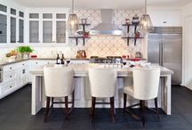 Rooms   Kitchens - Classic & Modern / by D for Design / Donna Puzifera