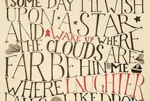 Just Words / Words, typography, quotes, and more...