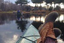 The Great Outdoors / Hiking, kayaking, fishing, camping, sports, jogging, sailing, horseback riding, skiing, swimming, walking, nature. / by Kris Nelson