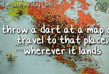 Around the World / Bucket list places to visit! / by Ana D. Wendt