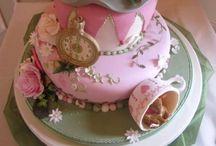 Alice In Wonderland Baby Shower Menu Ideas / by Natasha Santiago-Velez