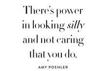 What Mumma Said / Words of wisdom. Words to inspire.