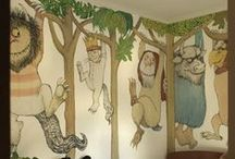 Wallpapers for a young child or fanciful power room / by Nancy Duncan