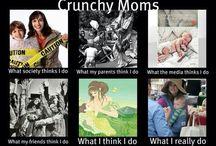 Crunchy Mama... / by Natasha Santiago-Velez