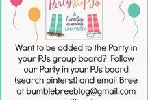 Party in Your PJs Link Party / When you link up to Party in Your PJs  you can pin your goodies here to share with everyone. We hope you take the time and pin one or two of the posts before yours! If you would like to be a member you must follow @thecokiepuzzle and @Briana {bumblebreeblog} and we can add you to the board. Just leave us a comment on the link party after you have added us! We can't wait to share your pins! Party runs Tuesdays 7 PM  - Midnight Saturdays (Central Time) / by The Cookie Puzzle