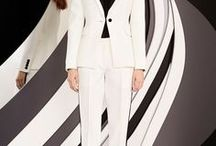 Style: the suit / I'm defining a suit for my purpose here as an outfit with a coordinating top & bottom - but beyond excluding extremely casual coordinates, I'm not necessarily hewing to any traditional definition of what a suit should look like!