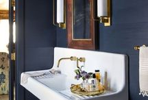 Powder Rooms for Dirty Kids / Powder room inspiration