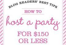 Party Ideas / by Bekkah Blog ♥
