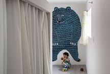 Wallpapers & more... / Just compiling some nice kid's rooms wallpapers, stickers or other imaginative ways of wall decoration.