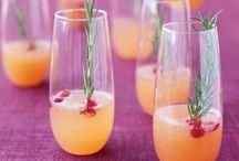 Creative Cocktail Recipes / From casual cocktail hour to decadent desserts in a glass, these drink recipes will inspire your next romantic adventure.