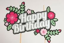 Paper Goods by Especially Paper / Unique paper goods for your next event —birthday party, baby shower or bridal shower.