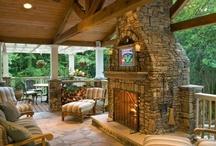 Outdoor living space / by Elizabeth Walker