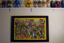 My Precious- comic books / Pictures of some (not all) of the comic books and action figures in my personal collection.