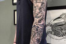 Tattoo's Inspiration / Inspirações e ideias de futuras tattoos.
