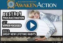 Awaken Action FREE Video / At some point every person comes across getting stuck in a rut as they advance in this journey called life. What if I told you that getting out of the rut you're in can be as easy as you got in? How about that for a change for a change of thought process! Sign Up For Awaken Action Free Video Course Today!
